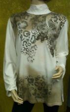 Damen Oberteil Langarmshirt Pullover Stehkrage Gr. 50 von Fashion Highlights