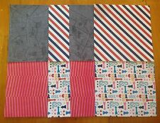 Scrapbook/Cardmaking Paper Pack- 8 Sheets -4 Designs-PenPals-15x15cm - Pack212