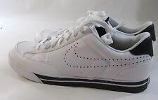 Nike Navaro Low Lifestyle Shoes White/White-Black 386587 103 Size 13