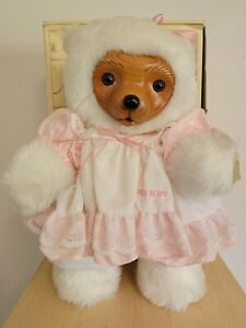 Robert Raikes Annie Mother's Day Bear 1989 Box, COA and Signed.