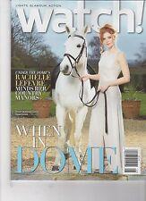 WATCH Magazine - CBS - Aug 2014 - Rachelle LEFEVRE Cover - Extant Under The Dome