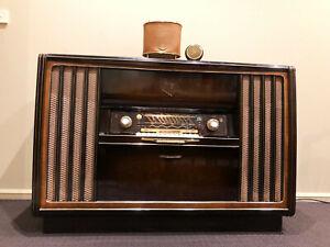 Vintage Grundig Radio 'Concert Cabinet' 8098, mid 1950s, Made in Germany
