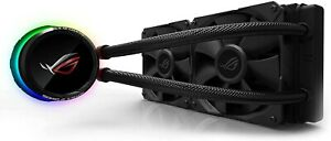 ASUS ROG Ryuo 240 CPU Cooler with OLED Display and Aura Sync - Black BRAND NEW!