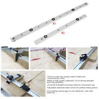 300/450mm Aluminium Alloy Miter Bar Slider Table Saw Gauge Rod Woodworking Tool