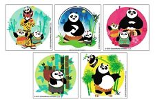15 Kung Fu Panda 3 Stickers Kid Reward Party Goody Loot Bag Filler Favor Supply
