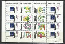 ESPAÑA. Año: 2005. Tema: 25º ANIV. DE LOS PREMIOS PRINCIPE DE ASTURIAS.