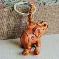 Chain Wooden Pendant Keychains Jewelry Fashion Accessories Evil Car Accessories