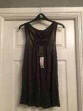 Ladies Ted Baker Top Grey Size 4 New