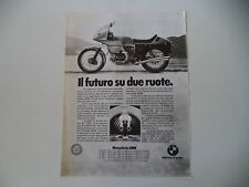 advertising Pubblicità 1977 MOTO BMW R 100 RS 1000