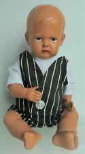 "Vintage Celluloid Boy Doll, 11"", Eagle w/ Usa mark on back"