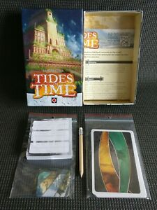 TIDES OF TIME Excellent 2 Player Tactical Strategy Card Game Age 10+ MINT UNUSED