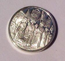 Franklin Mint Sterling Silver Mini-Ingot: 1912 Women Strive For Right To Vote