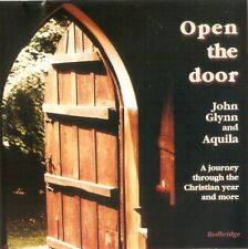 John Glynn And Aquila - Open The Door (CD 2006) **SIGNED**