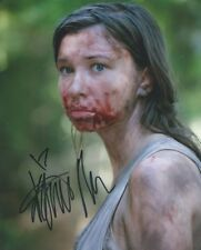 Katelyn Nacon The Walking Dead autograph 8x10 photo with COA by CHA
