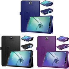 """Samsung Galaxy Tab S2 9.7"""" Magnetic Leather Cover Case Screen Protector & Stylus"""