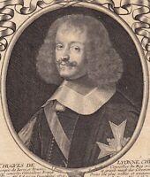 Portrait XVIIe Hugues de Lionne Grenoble Louis XIV Dauphiné Jean Frosne