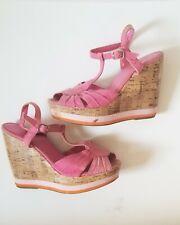 """Madden Girl """"Junniper"""" 6.5 Pink Wedges"""