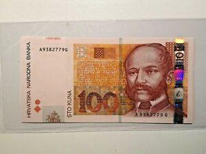 Croatia, 2002, 100 Kuna, P-41a, UNC Banknote
