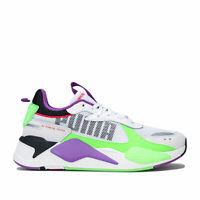 Mens Puma Rs-X Bold Trainers In Puma White / Gr Gecko / Royal Lilac - Mesh Upper