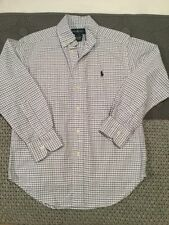 Boys' Checked Button Down T-Shirts, Tops & Shirts (2-16 Years)