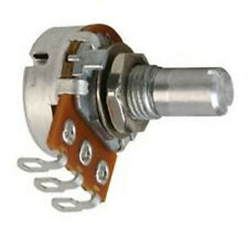 Taiwan Alpha 16mm Potentiometer Lin/Log 15mm Round 6mm/6.35mm Lug Tags Audio Pot