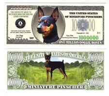 Dollar Miniature Pinscher  One Million Doggie Bones