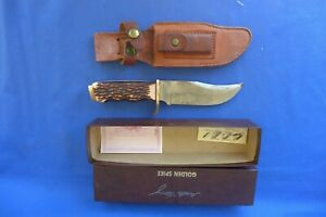 Vintage Schrade Uncle Henry 171UH Hunting Knife w/ Leather Sheath & Box