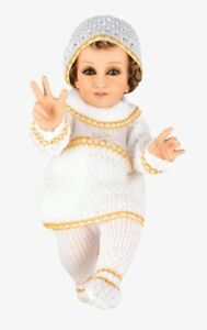 Bebe Tejido Oro. Traje de Niño Dios. Bebé Jesús Outfit