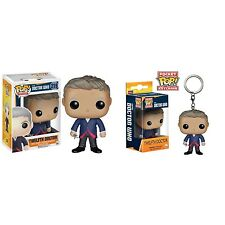 Doctor Who Twelfth Doctor Funko Pop! Vinyl Figure with free Dr Keyring.Brand New