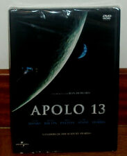 Apollo 13 DVD New Sealed Science Fiction Drama Tom Hanks (Sleeveless Open) R2