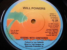 """WILL POWERS - KISSING WITH CONFIDENCE   7"""" VINYL"""