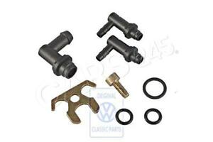 Genuine Volkswagen Parts Set For Vacuum Connection NOS Passat 051198026B