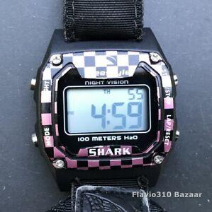 Custom FREESTYLE FS81268 Shark 100M H2O 37mm Surfing watch - New Battery