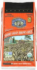 New listing Lundberg Short Grain Brown Rice, 25 Pounds, Organic (Packaging May Vary)