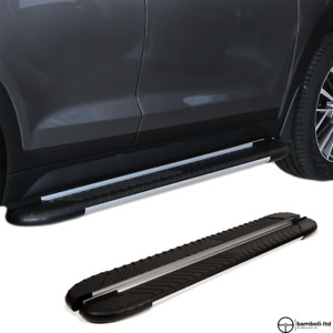 Running Board Side Step Nerf Bar for FIAT 500L 2013 → Up