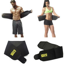 New Waist Training Trimmer Fajas Belly Belt Sweat Body Shaper Clincher Corset AS
