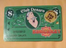 Suncoast Casino Las Vegas Nevada Vintage Vault Slot Card Great For Collection!