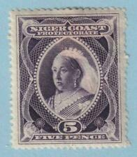 NIGER COAST PROTECTORATE 59  MINT HINGED OG * NO FAULTS EXTRA FINE!
