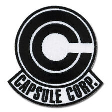 Dragon Ball Z Capsule Corp. Logo Iron / Sew On Patch Funimation Licensed Product