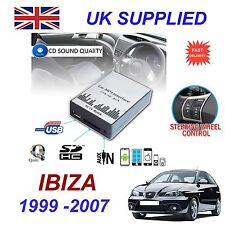 For SEAT IBIZA MP3 SD USB CD AUX Input Audio Digital CD Changer Module 8Pin