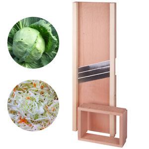 Wooden Mandolin Cabbage Shredder Large Slicer Vegetable Cutter Vegetable 61cm/24
