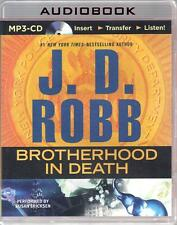 Brotherhood in Death by J D Robb (#42) Susan Ericksen Unabridged MP3 AudioBook