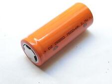 1 Batería Dz 26650 Perno / Antorchas Batería Del Li-Ion Protegida 3 , 7v
