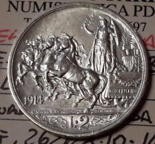 Regno d'Italia 2 lire 1914 V.E.III QUADRIGA BRIOSA qFDC/fdc