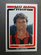 FIGURINA STICKERS SOCCER CALCIO FLASH 88 1988 MILAN N.161 VAN BASTEN NEW-FIO