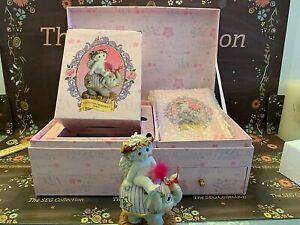 "Dreamsicle Club 2002 Membership Kit ""Collecting Memories"" Elephant Figure #12076"