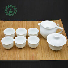 8Pcs Chinese Porcelain Tea sets Ceramic Tea Exquisite KungFu Tea Set pot tea cup