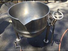 Groen Dover D2/Bv/40 Tilting Stainless Steel Steam Kettle 40 Gallon