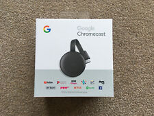Google Chromecast 3rd Generation (mint condition- never removed from box)