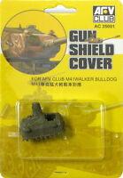 AFV Club 1/35 AC35001 Gun Shield Cover for AFV Club M41 Walker Bulldog